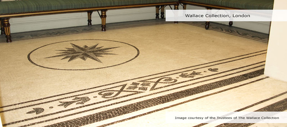 Our Mosaics are installed in Prestigious Museums